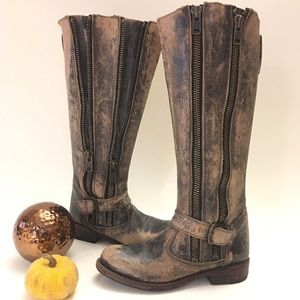 Bed Stu cobbler series Tango leather boots